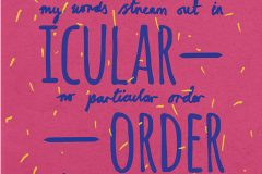 No Particular Order