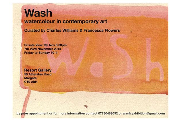 Wash_exhibition_flyer_Francesca-Flowers-Charles-Williams_Resort-studios-Margate