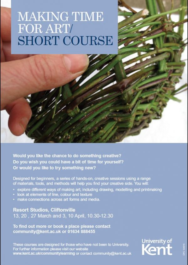 Making time for Art / Short course
