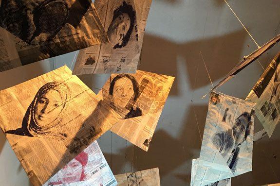 Helen Brooker Afghan Kites Amnesty International Resort studios Margate