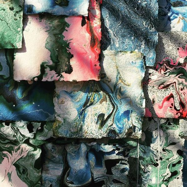 Paper Marbling and the Art of Suminagashi