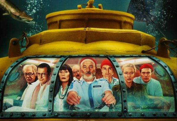 Drawing from The Life Aquatic and other Maritime Movies